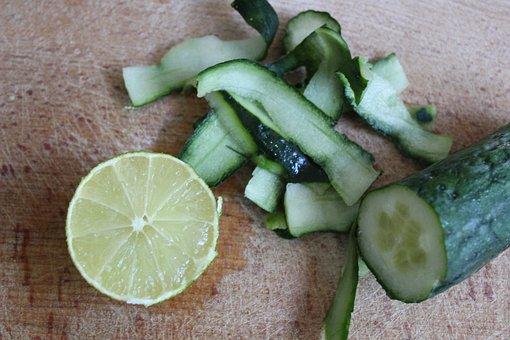 Lime, Cucumber, Detox, Fresh, Healthy, Health, Vitality