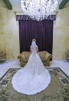 Bride, Wedding, Woman, Marriage, Girl, Dress, Love