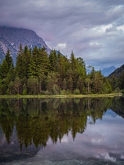 Alpine, Mountains, Lake, Bergsee, Landscape, Nature