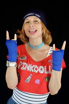 Rocker, Gesture Rock, Rebel, Teen Gestures, Emotions