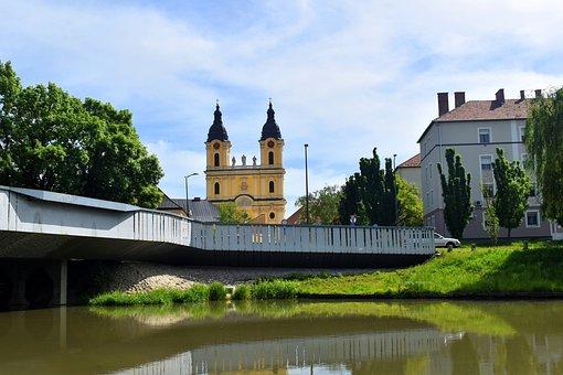Butter, Church, Water, Lake, Panorama, Architecture