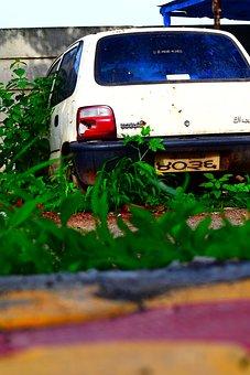 Car, Low Angle Photo, Cityscape
