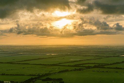 Dragon Eye, Sun, Field, Cloud