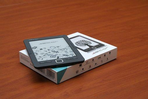 E-book, E-reader, Alcor Myth, E-paper, Ebook, E-ink