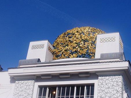 Art Nouveau, Architecture, Building, Door Frieze