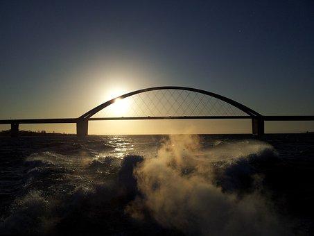 Baltic Sea, Sea, Sunset, Sunrise, Atmospheric, Wide