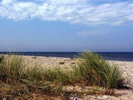 Fehmarn, Fehmarn Belt, Baltic Sea, Beach, Summer