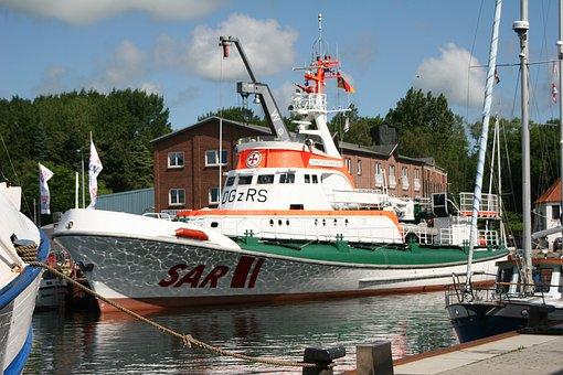Sar, Seenotrettungskreuzer, Burg On Fehmarn, Baltic Sea