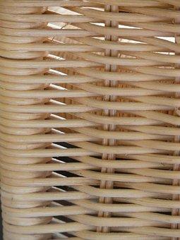 Braid, Rattan, Wicker, Basket, Woven, Hand Labor