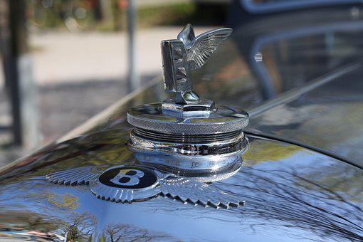 Bentley Badge, Cool Figure, Oldtimer