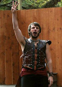 Man, Vest, Young, Costume, Arm, Armpit, Leather