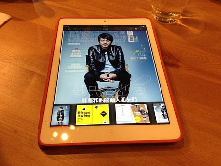 Ebook, Magazine, Tablet Pc