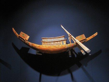 Tutankhamun, Egyptian, Vessel, Display, Treasure, Find