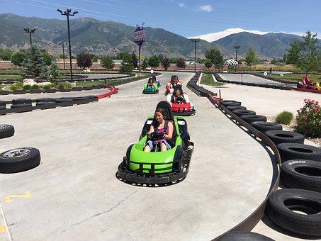 Gokart, Fun, Car, Go-kart, Racing, Karting, Track, Race