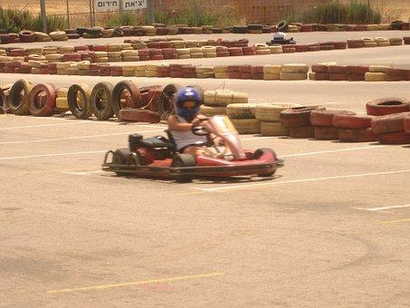 Go Karting, Race, Track, Go-kart, Speed, Sport
