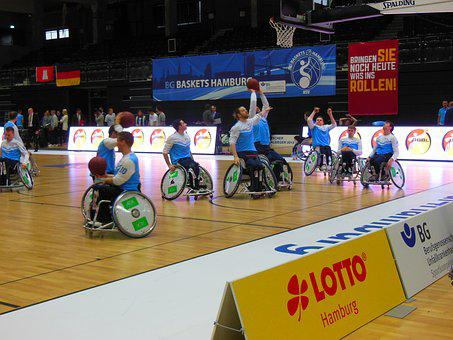 Hamburg, Basketball Cup, Mobility, Sport