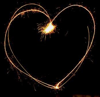 Heart, Sylvester, Fireworks, Star Thrower, Sparkler