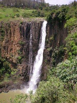 Waterfall, Howick Falls, Umgeni, Cliff, Howick