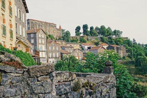 Town, Idyll, Mediterranean, Idyllic, Medieval, Hiking