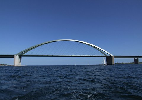 Fehmarn, Baltic Sea, Bridge, Bird Route, Island, Sea