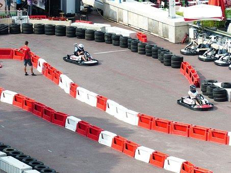 Cards Driver, Go Kart Track, Kart, Go Kart, Racecourse