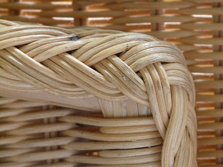 Basket Ware, Korbsessel, Braid, Rattan, Wicker, Basket