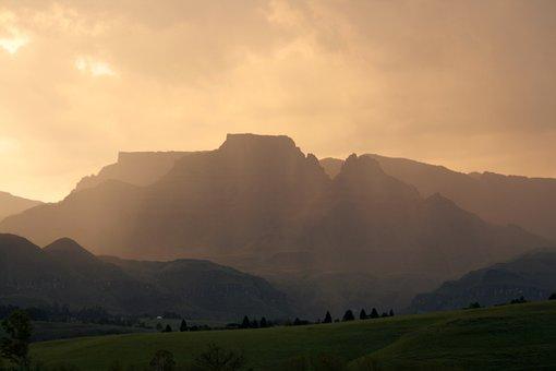 South Africa, Drakensburg, Mountains, Landscape, Natal