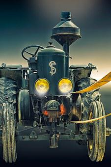 Agricultural Machine, Machine, Former, Tractor