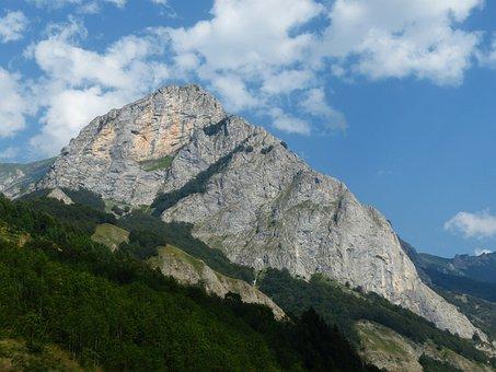 Mountain, Maritime Alps, Caire Which Porcera, Trinità