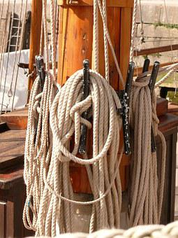 Sailing, Old Rig, Sea, Water, Sailing Vessel, Port