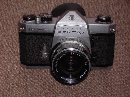 Camera, Pentax, Old, Slr, Analog, Photograph