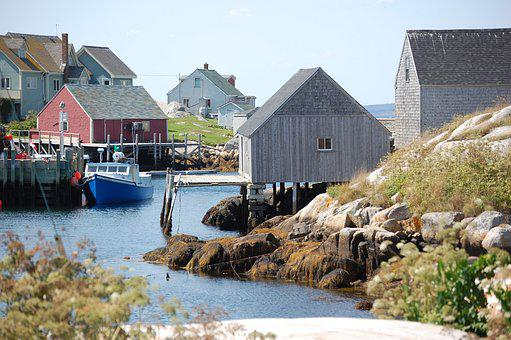 Peggy's Cove, Ns Canada, Coastal