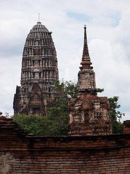 Holy, Holy City, Ayuthaya, Perish, Thailand, Faith