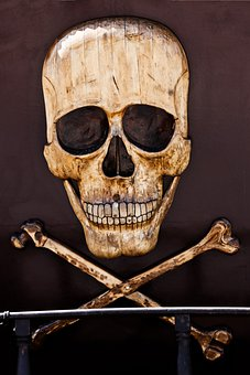 Horror, Pirate, Death, Bone, Sign, Dead, Skeleton, Head