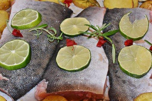 Salmon, Salmon Fillet, Fish, Frisch, Raw, Protein