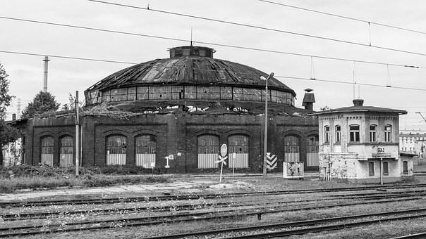 Railway Station, Train, Railway, Gleise, Tracks, Rails
