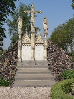 Batenburg, Calvary, Christianity, Monument, Sculpture
