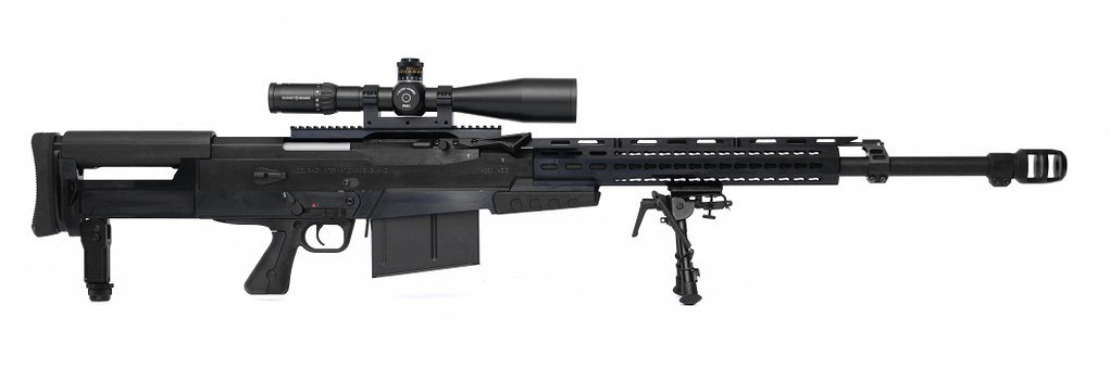 Accuracy International, As50, Semi-automatic, Rifle