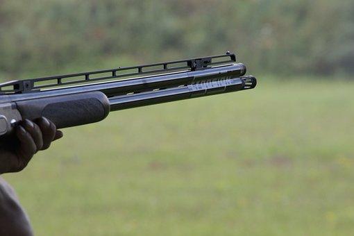 Shotgun, Rifle, Clay Pigeons, Shoot, Sport