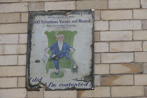 Vintage, Sign, Retro, Old, Newspaper, Design, Banner