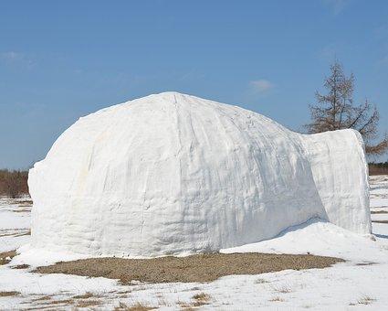 Igloo, Snow, House, Landscape, Ice, North, Ice House