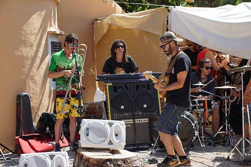 Musician, Music, Country Music, Ibiza, Street Musicians