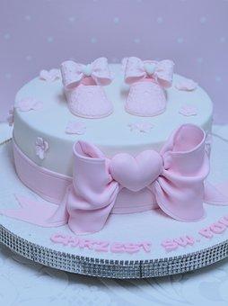 Cake, Food, Baptism, Decoration, Creative, The Art Of
