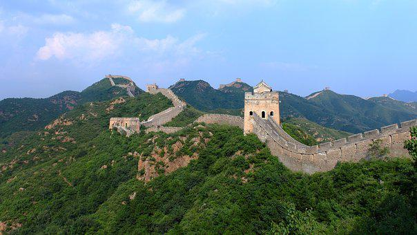 Jinshanling, The Great Wall, Beijing, The Scenery