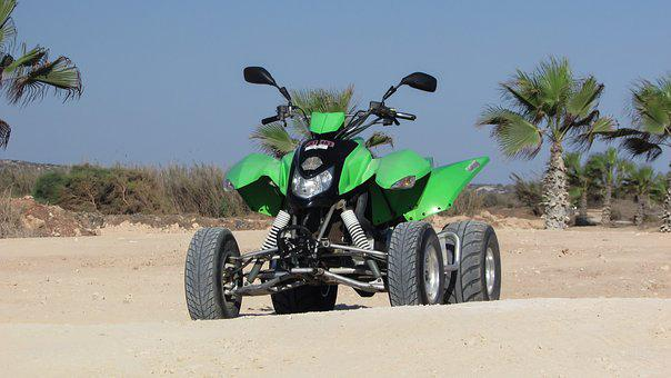 Quad Bike, 4 Wheel, Vehicle, Dirt, Adventure, 4x4