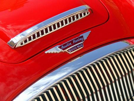 Austin Healey, Austin, Healey, Vintage Car, Classic Car