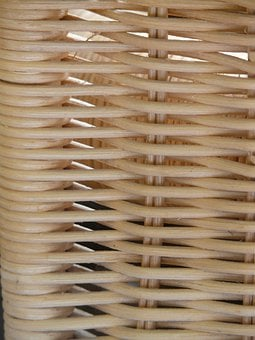 Braid, Rattan, Wicker, Basket, Woven, Hand Labor