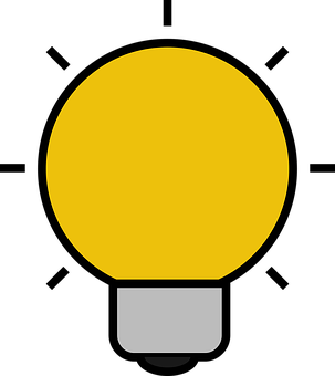 Icon, Bulb, Light, Idea