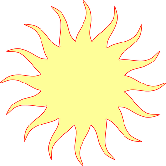 Sun, Signs, Symbols, Weather, Rays, Warm, Summer