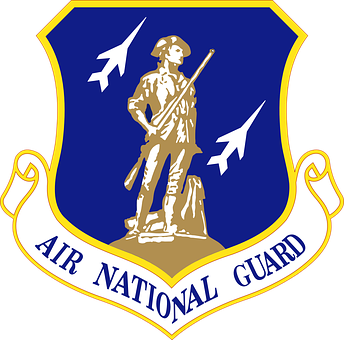 Air, National, Guard, Military, Emblem, Soldier, Army
